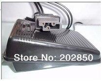 Controlador de pedal para máquina de costura doméstica, 200v 240v, 1a, tomada eu, conector «, para singer, irmão, acme...