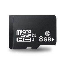 מפעל מחיר!!! 100 יח\חבילה 8GB TF כרטיס C10 TransFlash כרטיס מיקרו, באיכות גבוהה 8G מיקרו SDHC SD כרטיס C10 UI עבור הסלולר