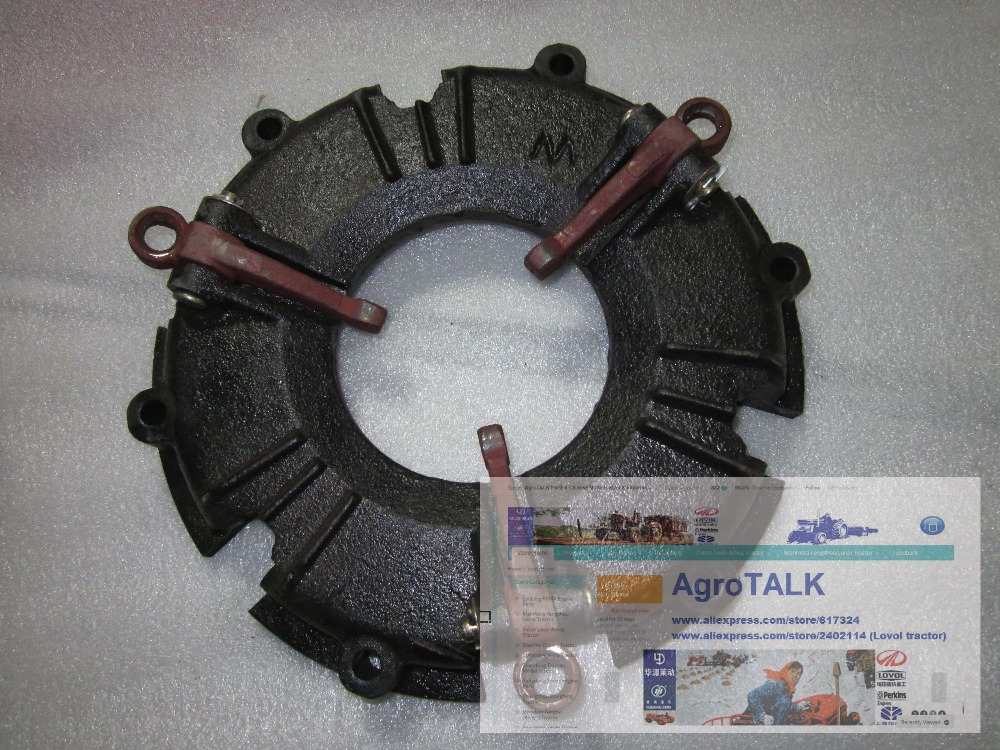 Lenar 254 the tractor part, the clutch cover, part number: 9210205BBD lenar 254 tractor with engine nj385 the crankshaft with oil seals set part number