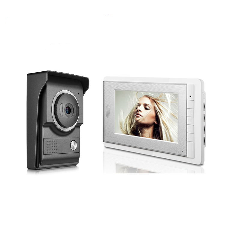 7 Inch LCD Screen Two Way Intercom Video Door Phone V70C-L