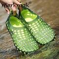 Merkmak 2016 Мужские Сандалии Дышащий Лето Мягкие Квартиры Вождения Лепнина Рыболовные Обувь Zapatos Chaussure Homme Masculino