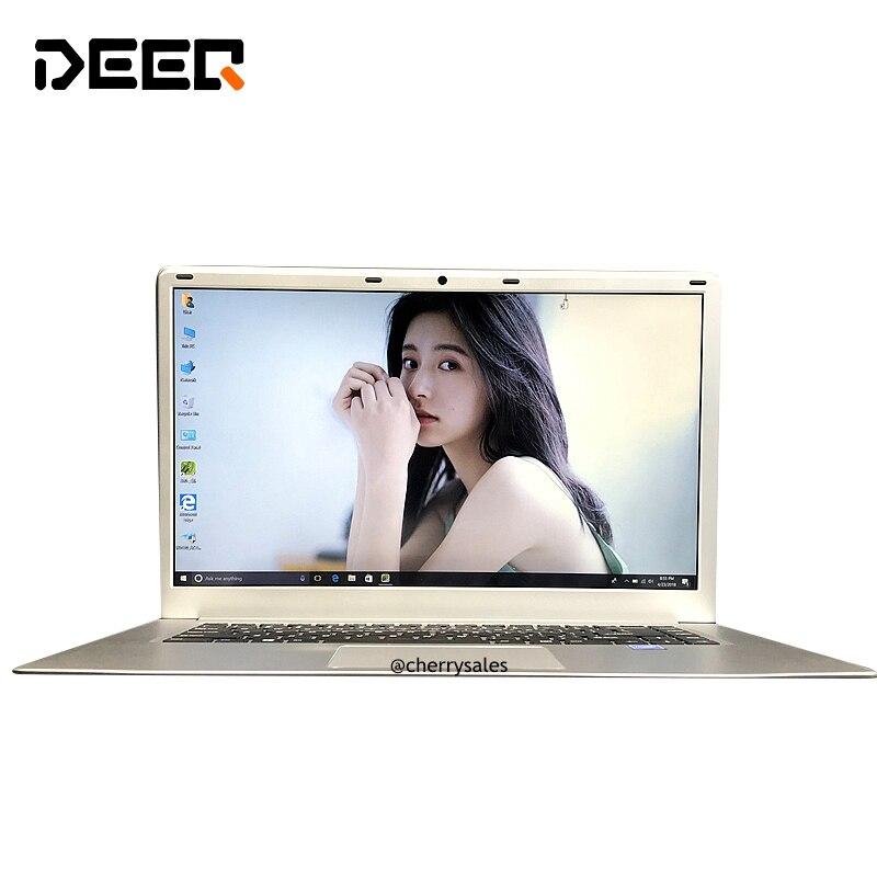 15,6 дюймов ноутбук Intel N3450 4 ядра Windows 10 1080 P FHD 6 ГБ Оперативная память 64 ГБ eMMC ноутбук с <font><b>Bluetooth</b></font> WI-FI HDMI Камера