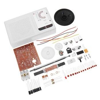 1 Unidades DIY FM Radio CXA1691 los estudiantes de soldadura práctica de producción electrónica Kit de aprendizaje