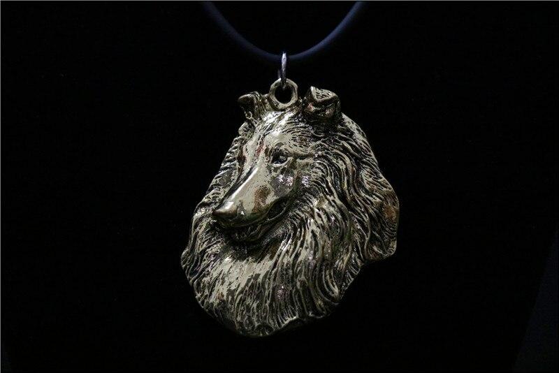 Купить шероховатая собака ожерелье ручной работы брелок рельефная подвеска