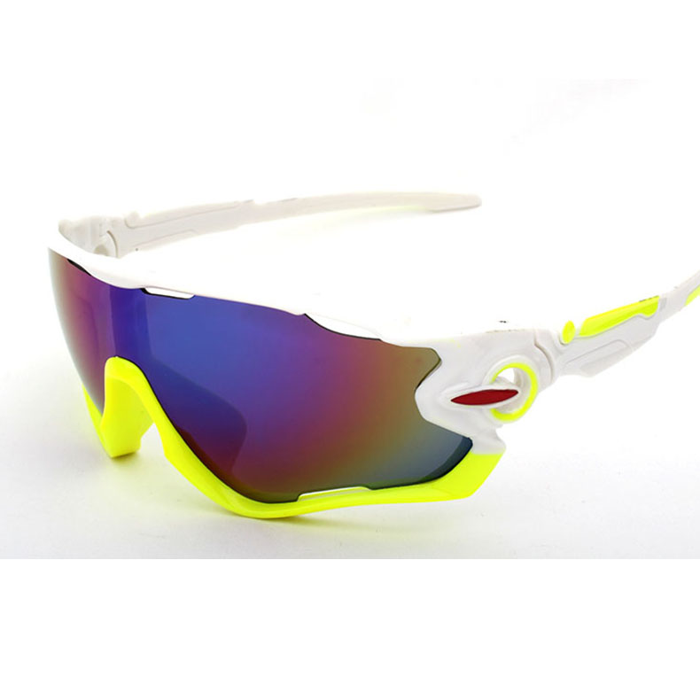 Cycling Eyewear Goggles for Outdoor Sports Sunglasses Glasses Bike Big Lens Spectacles Sunglasses in Cycling Eyewear from Sports Entertainment