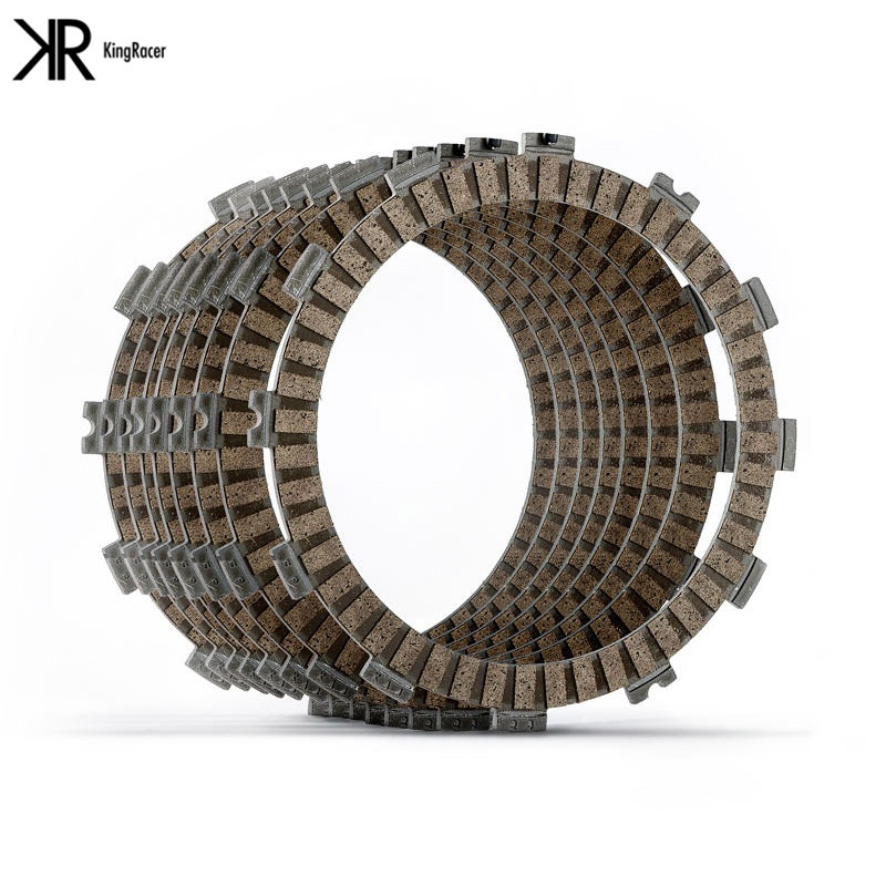 Motorcycle Clutch Friction Plates For <font><b>HONDA</b></font> VT750SD 14 NT650 88-91 VT750SA 14-15 CTX700AE 13-16 <font><b>VT750S</b></font> 10-16 CTX700DE 13-16 8PCS image
