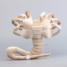 Делюкс чужеродные плюшевые игрушки фейсхаггер страшные игрушки монстр мягкие животные милые мягкие куклы Рождественский подарок 33 см