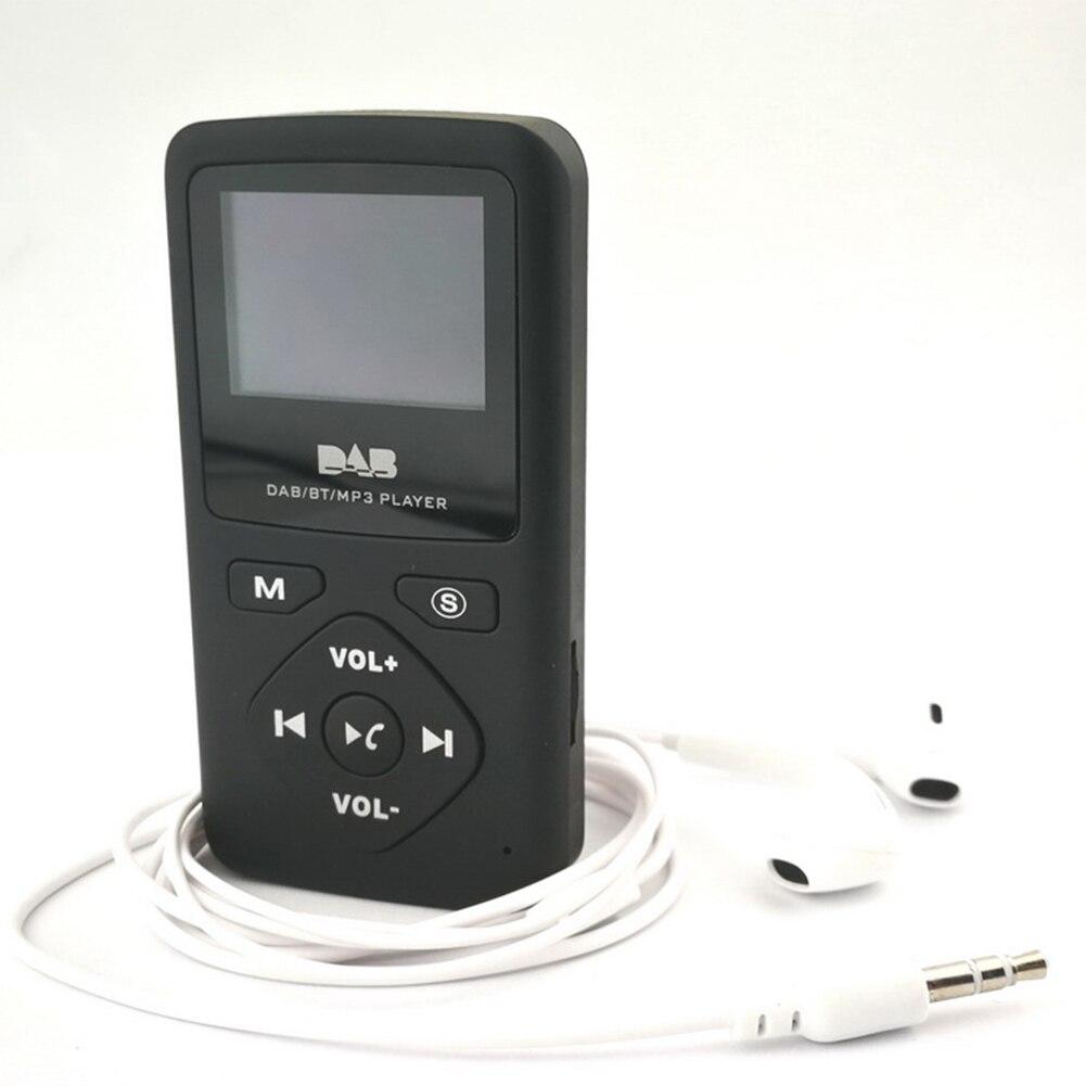 Radio Liefern Dab-p7 Tasche Mp3 Player Übertragen Digitale Radio Unterstützt Tf Karte Mini Fm Radio Empfänger Tragbare Mit Bluetooth Stereo Radio Attraktive Mode Tragbares Audio & Video