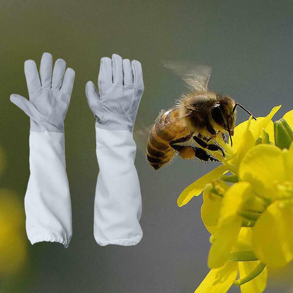 Beekeeping Protective Gloves Bee Keeping Vented Beekeeper Long Sleeves LP