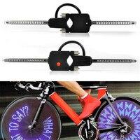 snowshine2 #5022 New PC Programmable Wireless LED Custom Message Bike Cycle Motor Wheel Lights