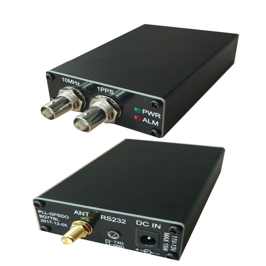 新しい PLL GPSDO GPS Tame 規律時計正弦波 GPS 受信機 10 mhz  グループ上の 家電製品 からの アンプ の中 1