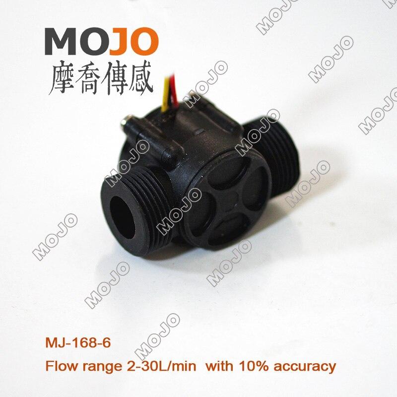 """Датчик потока Холла MJ-A168-6 G3/4 """"Датчик потока водопроводного крана с наружной резьбой"""