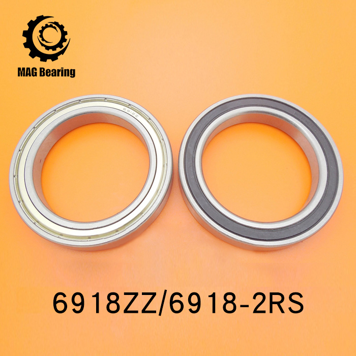 High Quality 1pcs 6918ZZ 90x125x18MM Metric Thin Section Deep Groove Ball Bearings 61918 ZZ 6918 2rs abec 1 90x125x18mm metric thin section bearings 61918rs 6918rs
