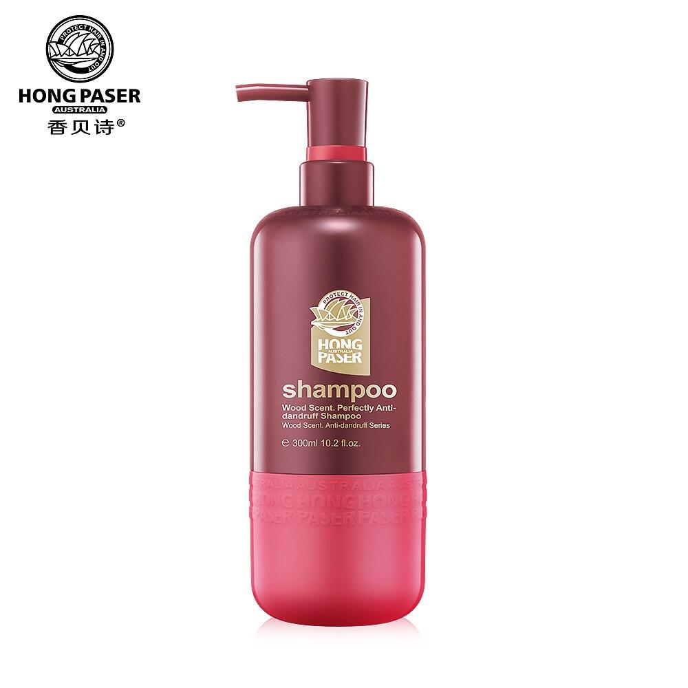 HONG PASER Anti-pelliculaire huile propre douceur élasticité démangeaison arbre extrait bois de santal soin des cheveux Protection 700ml shampooing
