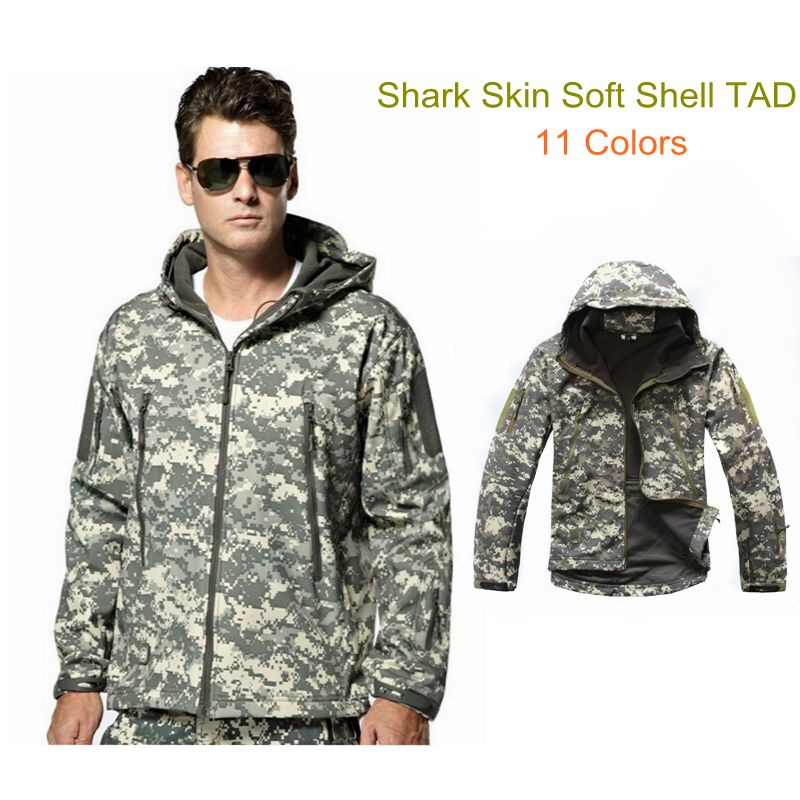 High Quality Military Lurker Shark Skin Soft Shell TAD Tactical Jacket Waterproof Windproof Windbreaker Men Coat Outdoor Camping lurker shark skin soft shell v4 military tactical jacket men waterproof windproof warm coat camouflage hooded camo army clothing
