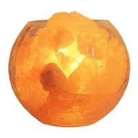 Himalayan salt lamp rose salt European bedroom LED bedside lamp warm dimmable night light table lamp