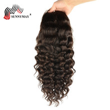 hot deal buy sunnymay loose wave lace front human hair wigs with baby hair peruvian virgin lace front wigs pre plucked