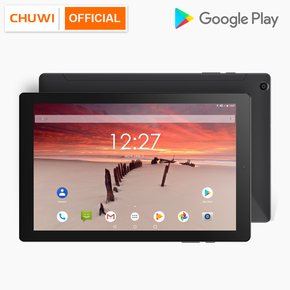 CHUWI 2019 Hipad LTE MTK6797 X27 Deca Core Android 8.0 3GB RAM 32GB ROM 10.1 Inch 1920*1200 4G Phone Call Tablets(China)