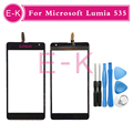 Оригинал 5.0 ''Для Nokia Microsoft Lumia 535 N535 CT2S1973 CT2C1607 Touch Screen Digitizer Стекло + Инструменты