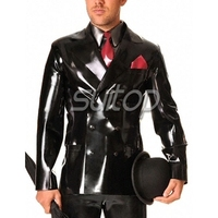 latex rubber jacket suit heavy latex in 0.6mm