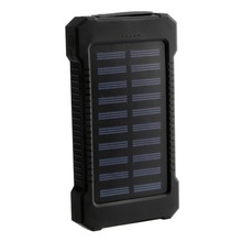 ONLENY Solar Power Charger Dual USB Power Bank 20000mAh Waterproof External Battery for iPhone X Samsung Xiaomi Powerbank цена и фото