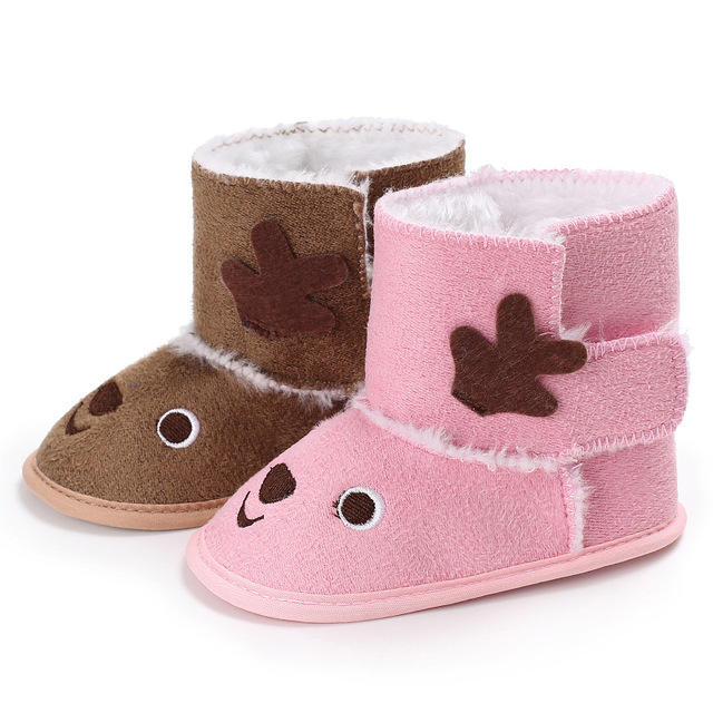 Winter cute Baby Shoes Newborn Baby Boys Girls First Walkers Shoes baby  snow boots Infant Toddler Warm Boots Booties 0-18 M d78a4227fdae