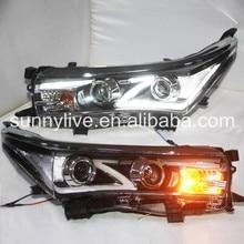 Silver Reflector For Toyota Corolla led front light 2014-2015 LDV2