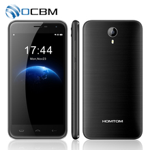 Homtom HT3 5.0 HD Android 5.1 Dual SIM 3G WCDMA MTK6580 Quad A Core 3000 mAh 1 GB RAM 8 GB ROM Del Teléfono Móvil
