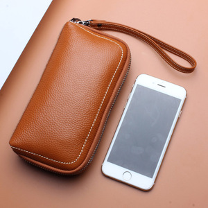 Image 4 - 6 couleurs mode femme sac à main 100% en cuir véritable excellente qualité pochette pour femmes sac Style européen et américain bracelets sacs