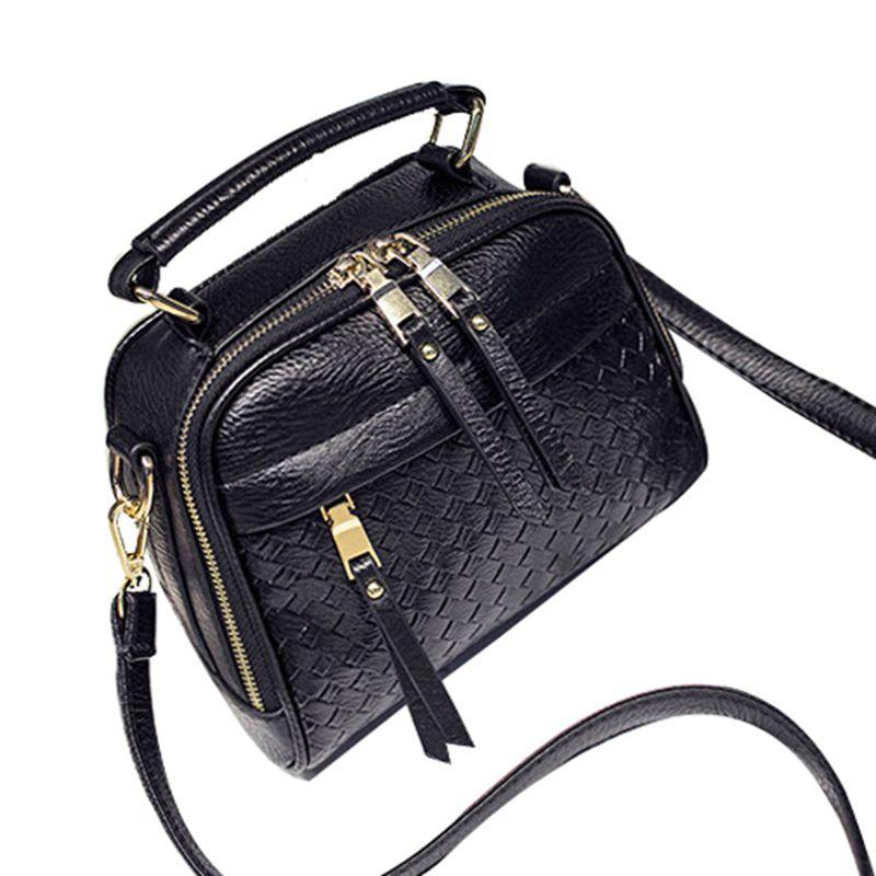 Luxury Women Messenger Bags Three Zipper Small Crossbody Bags For Women