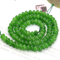 4X6mm green aventurine jasper abacus shaped loose beads 15inches 2pc/lot free shipping DIY fit women jewelry making gift