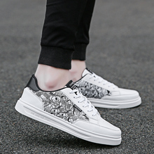 2018 Summer New Men Casual Shoes Breathable Wear Resistant Shoes Comfortable  White Round Toe Lace up Flat Casual Shoes   5 недорого