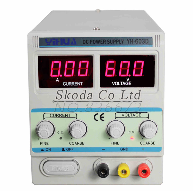 YH603D high-precision adjustable DC power supply 60V3A For mobile phone laptop repair A/mA switching power supply kuaiqu high precision adjustable digital dc power supply 60v 5a for for mobile phone repair laboratory equipment maintenance