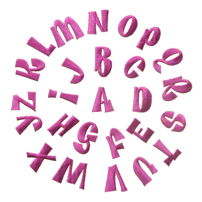 best top 10 textil letters alphabet ideas and get free