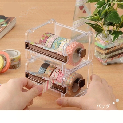MT And Paper Tape Cutters Office Stationery Hand - Off The Tape Storage Box Transparent Tape  Tape Dispenser