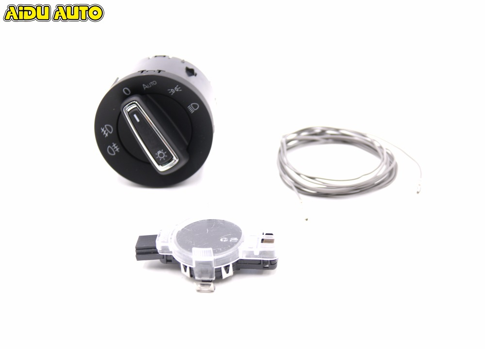 Auto Head light Sensor Rain Sensors Headlight Switch For GOLF MK7 7 VII 5GG941431D 8U0955559C