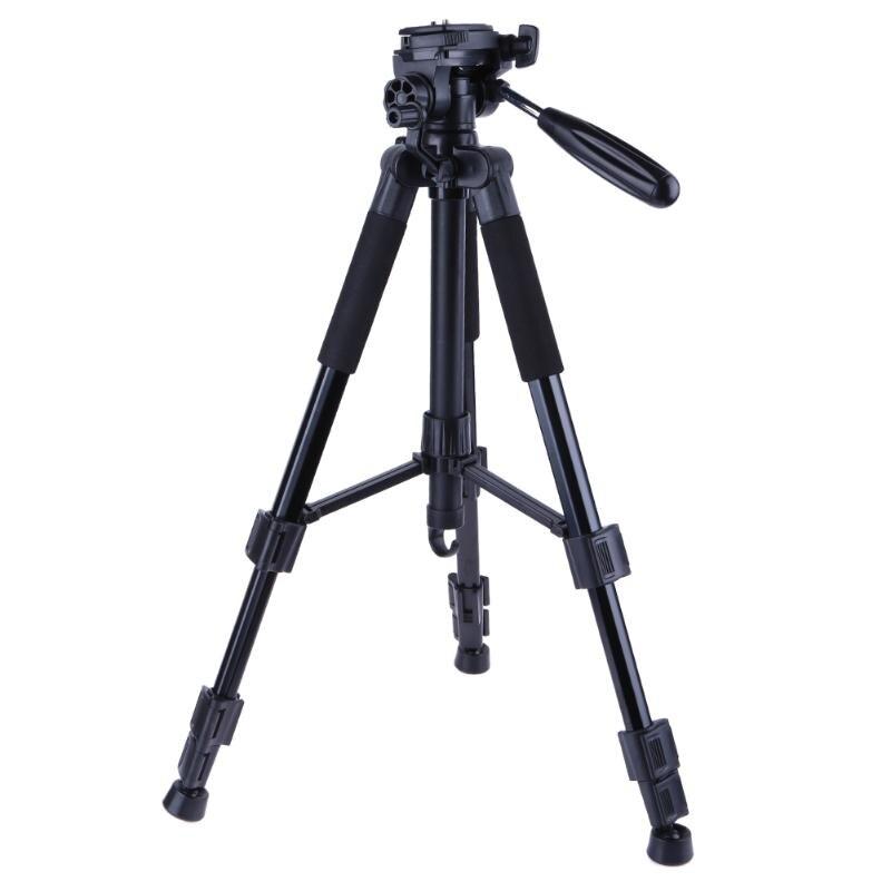 Alloet профессиональной фотографии 360 градусов Поворотный Камера штатив 1.4 м DSLR телефон видеокамеры телескопа держатель штатива для Sony Nikon