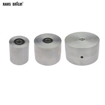 1 stück Gürtel Mühle Messer Grinder Rad Voll Aluminium Kontaktieren Rad Aktive rad