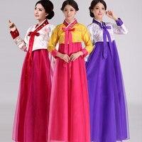 Korean hanbok women traditional korean costumes ladies hanbok korean dress Chinese Folk dance wear costumes Outfits