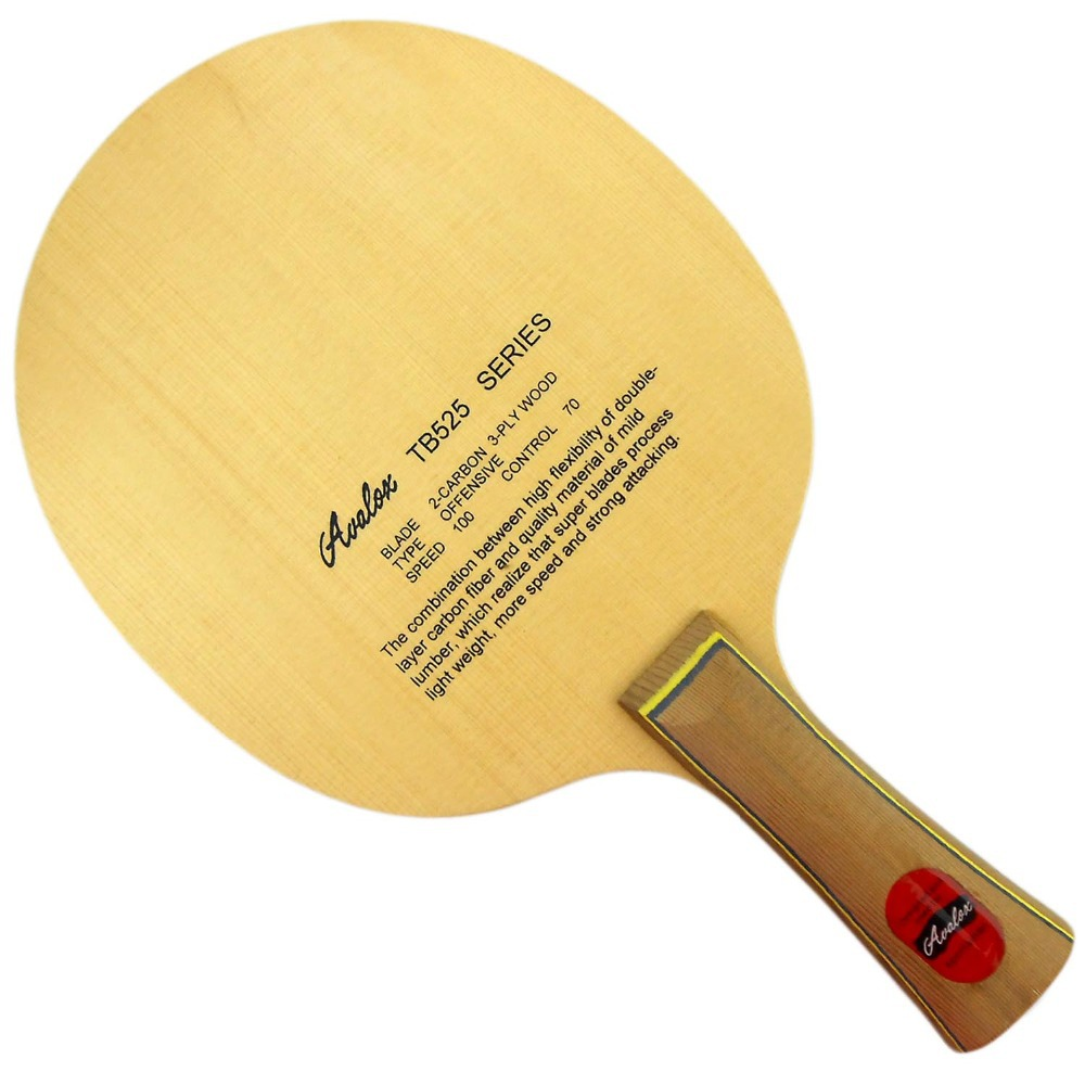 ФОТО Avalox TB525 (TB-525, TB 525) Offensive Shakehand  Table Tennis Blade for Ping Pong Racket
