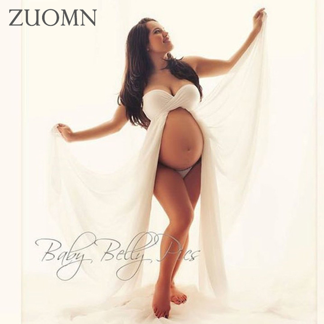 Fotografia de maternidade elegante chiffon vestidos mãe grávida wedding party dress adereços fotografia gravidez longo dress yl411