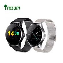TROZUM K88H Reloj Inteligente Reloj Pista MTK2502 Marcación Bluetooth Heart Rate Monitor Podómetro Smartwatch Para Android IOS