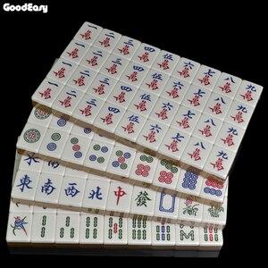 Image 5 - חם למכור 40mm יוקרה ונג סט כסף & זהב משחקי משחקי הבית הסיני מצחיק משפחת שולחן לוח משחק מתנה נפלאה