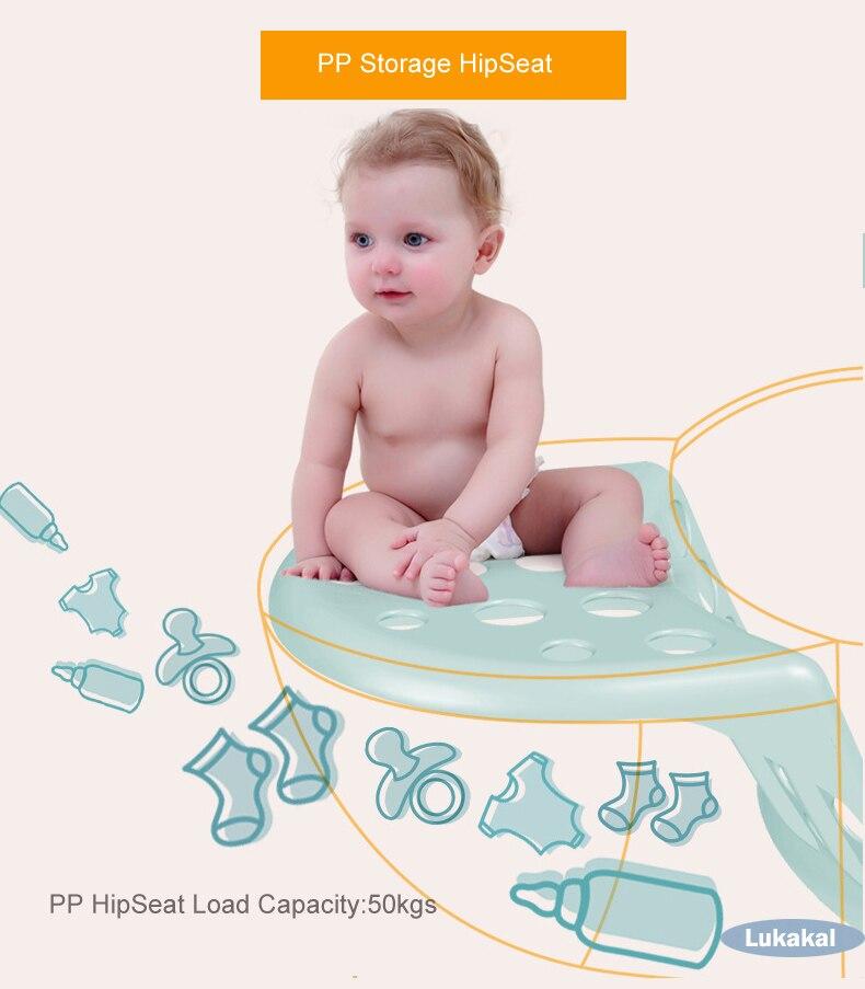 Купить с кэшбэком New Storage HipSeat Baby Carrier 0-48Month Baby Sling BackPack Kids Kangaroo Newborn Prevent o-type Legs Infant Sling Wrap