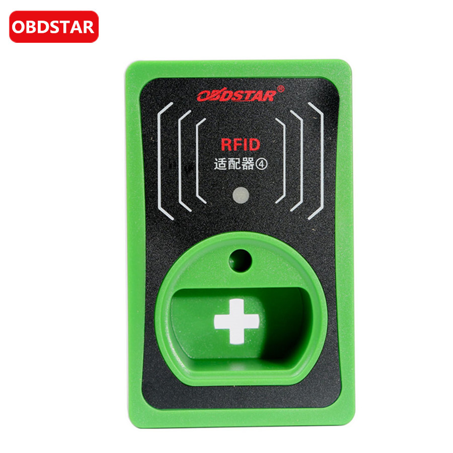 Цена за Obdstar чип читателя ИММО RFID адаптер для VW/Audi/skoda/seat 4 и 5 Gen