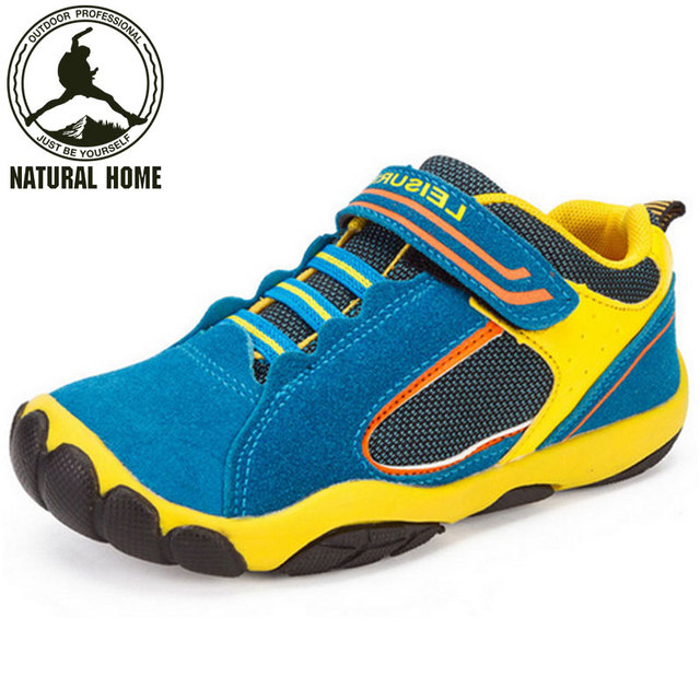 NaturalHome Leather Children Sneaker 2017 Spring Summer Waterproof Breathable Sport  Shoes Sneakers