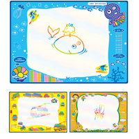 100 x 70cm Baby Graffiti Children's Toys Water with Magic Pen Doodle Painting Picture Water Drawing Play Mat in Drawing Toys