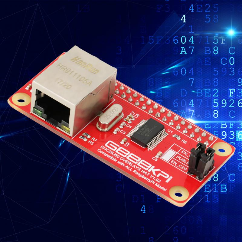 ENC28J60 Module ENC28J60 Ethernet Adapter LAN Network Adapter Module pi0 piw for Raspberry Pi Zero Board Network Adapter