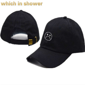 Sad Boy Dad Hat For Women Men Cotton Embroidery Cry Face Snapback Baseball Cap Hip Hop Vintage Trucker Hat Gorras Drop Shipping(China)