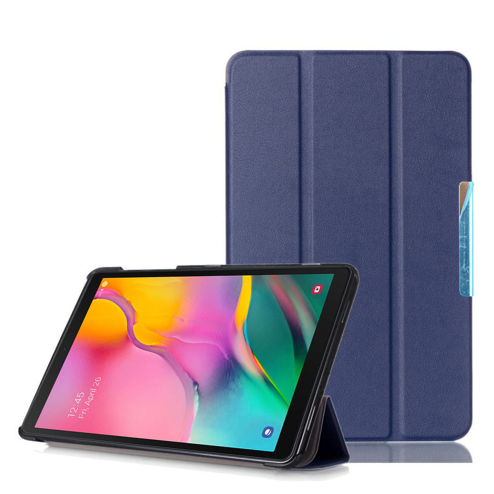 For Samsung Galaxy Tab A 10.1 inch (2019) Magnetic <font><b>Case</b></font> Cover for Samsung Tab <font><b>SM</b></font> <font><b>T510</b></font> <font><b>SM</b></font> T515 Funda Capa with pu leather stand image